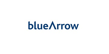 Blue Arrow logo